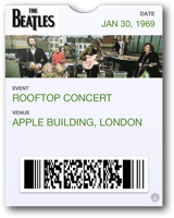 Beatles                         Rooftop Concert