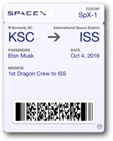 Dragon                         Mission to ISS
