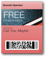 Free Number coupon